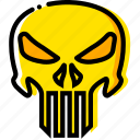 kill, movie, punisher, the, yellow icon