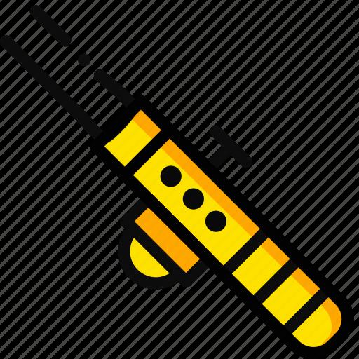 laser, movie, star, wars, yellow icon