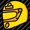 cars, head, rush, yellow, movie icon