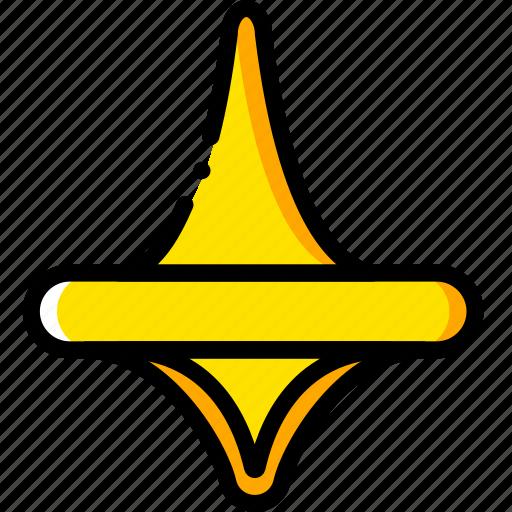 dream, inception, movie, pin, yellow icon