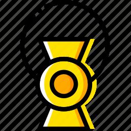 green, lantern, movie, powers, super, yellow icon