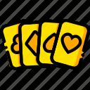 cards, casino, movie, royale, yellow