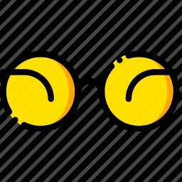 apple, jobs, movie, steve, yellow icon