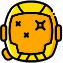 movie, galaxy, interstellar, yellow, space icon