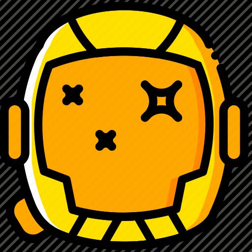galaxy, interstellar, movie, space, yellow icon