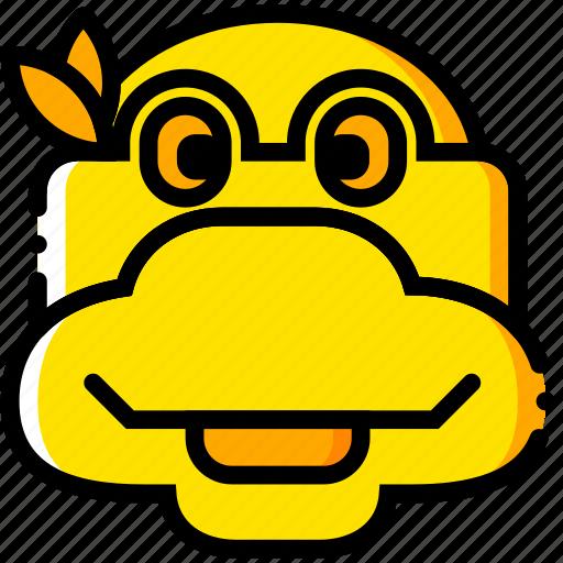 head, movie, tmnt, turtle, yellow icon