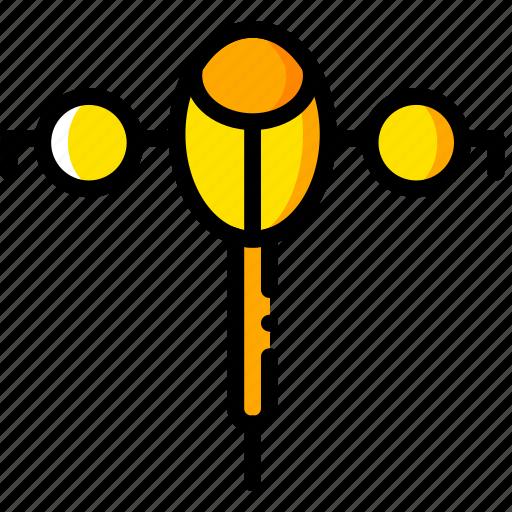 action, kill, movie, oblivion, yellow icon