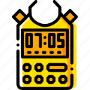 mic, music, play, record, sound, yellow icon