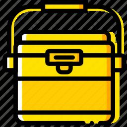 freezer, outdoor, wild, yellow icon