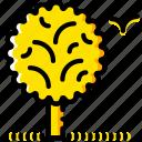 nature, outdoor, wild, yellow icon