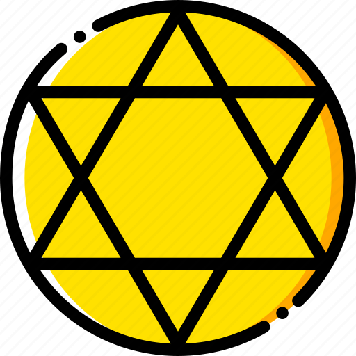 judaism, pray, religion, yellow icon