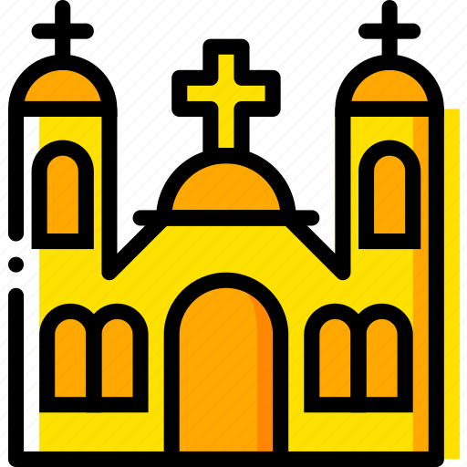 catholic, monastery, pray, religion, yellow icon