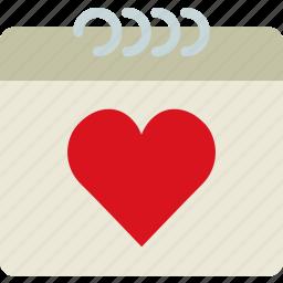 calendar, lifestyle, love, romance, sex icon