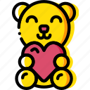 lifestyle, love, romance, sex, teddybear icon
