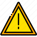 safe, safety, security, warning, yellow icon