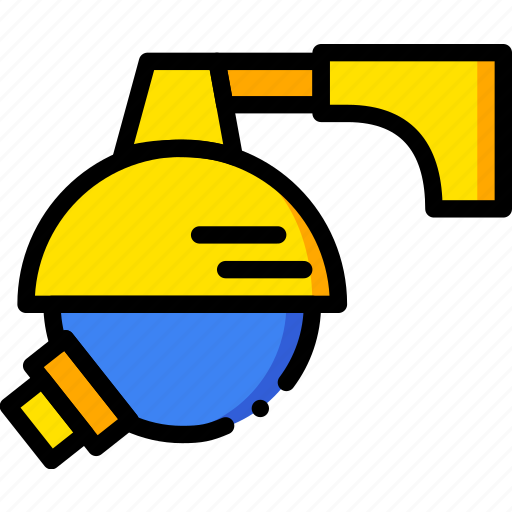 bank, camera, safe, safety, security, yellow icon