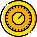 combination, safe, safety, security, yellow icon
