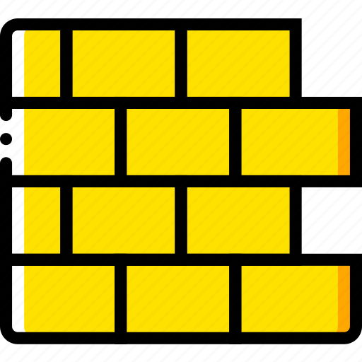 firewall, off, safe, safety, security, yellow icon