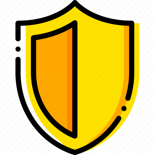 antivirus, autopilot, safe, safety, security, yellow icon