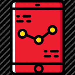 analytics, business, internet, marketing, mobile, seo, web icon