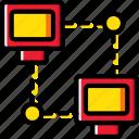 business, internet, lan, marketing, seo, web icon