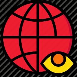 business, hide, internet, marketing, seo, web icon