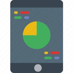 analytics, business, internet, marketing, mobile, seo, web icon