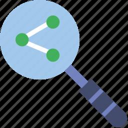 business, internet, marketing, nodes, search, seo, web icon