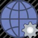 business, internet, marketing, seo, settings, web icon