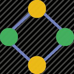 business, diagram, internet, marketing, seo, web icon