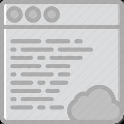 add, browser, business, cloud, marketing, seo, web icon