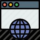 business, internet, marketing, seo, web icon