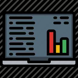 analytics, business, internet, marketing, seo, web icon