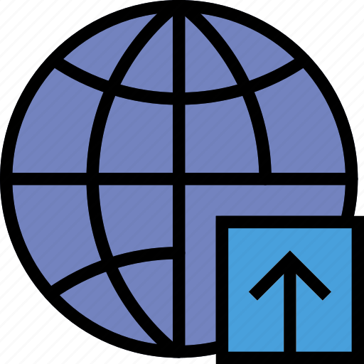 business, internet, marketing, seo, upload, web icon