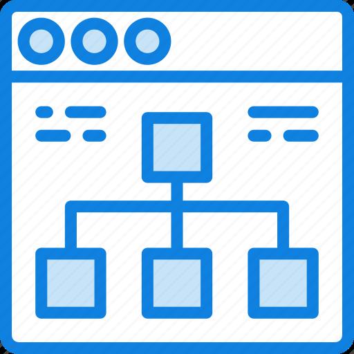 browser, business, diagram, internet, marketing, seo, web icon