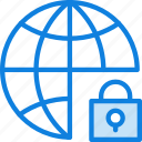 business, internet, lock, marketing, seo, web icon