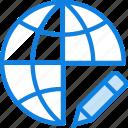 business, edit, internet, marketing, seo, web icon