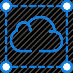 business, cloud, internet, marketing, seo, web icon
