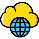 web, business, marketing, internet, seo, cloud icon