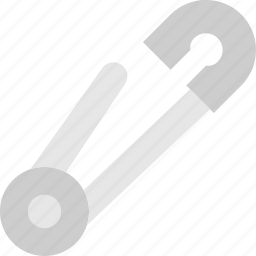 knit, machine, open, pin, safety, sewing, tailoring icon