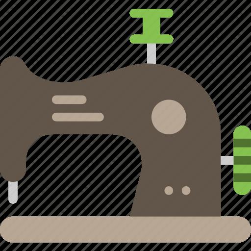 knit, machine, sewing, tailoring icon