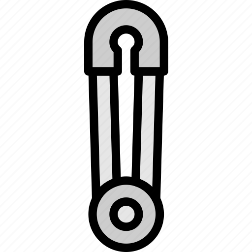 knit, machine, pin, safety, sewing, tailoring icon