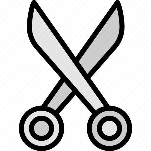 knit, machine, scrissors, sewing, tailoring icon
