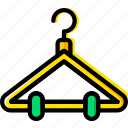 hanger, knit, machine, sewing, tailoring icon