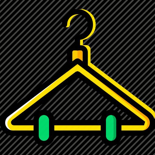 hanger, knit, machine, sewing, tailoring icon