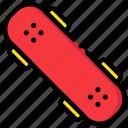 game, play, skateboard, sport