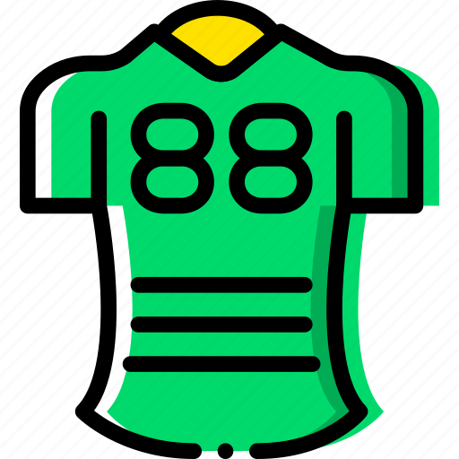 football, game, jersey, play, sport icon