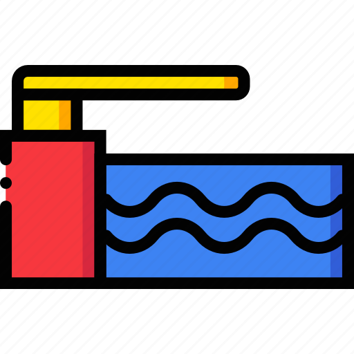 game, jumping, play, sport, water icon