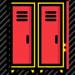 game, locker, play, sport icon