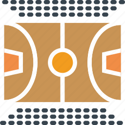 basketball, court, game, play, sport icon